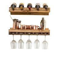 homcom 24 bottle tabletop wine rack for