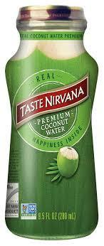 real coconut water taste nirvana