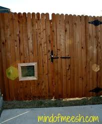 Diy Wooden Fence Window For Your Dog In 2020 Dog Window In Fence Wooden Fence Dog Fence