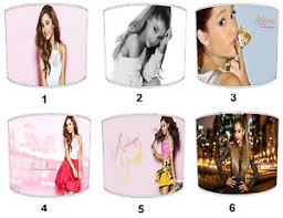 Ariana Grande Lampshades Ideal To Match Ariana Grande Duvets Wall Decals Ebay
