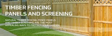 Timber Fencing Timber Screening Earnshaws