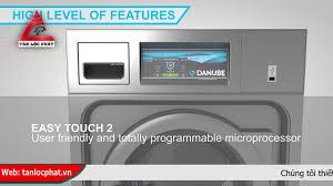 Máy giặt công nghiệp Danube mới 8Kg - 10Kg nhập khẩu với giá tốt nhất thị  trường - YouTube