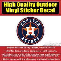 Houston Astros Vinyl Car Window Laptop Bumper Sticker Decal Colorado Sticker