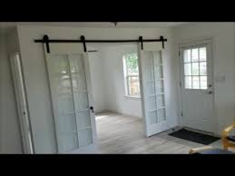 french doors to barn doors