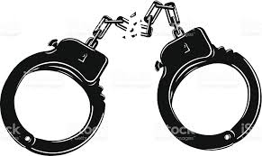 Image result for Images of broken handcuffs