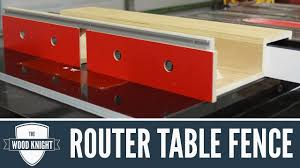 088 Router Table Fence For Tablesaw Router Wings Youtube