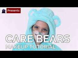 bedtime bear makeup tutorial fun