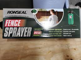Ronseal Fence Sprayer In Barnsley For 10 00 For Sale Shpock