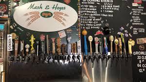mash hops craft beers visit