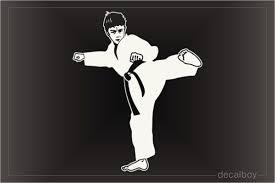 Karate Decals Stickers Decalboy