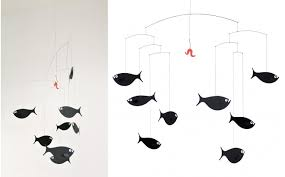 Flensted Shoal Of Fish Baby Mobile Kids Room Decor Baby Nursery Decoration Baby Gift Baby Mobiles