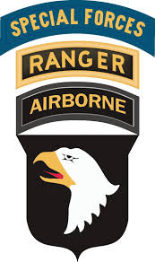 101st Airborne Ranger Special Forces Decal Sticker
