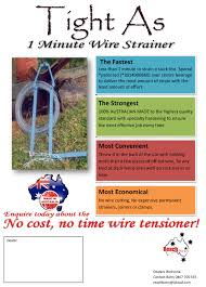 Tight As 1 Minute Wire Strainer