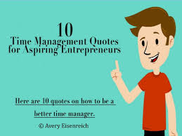 time management quotes for aspiring entrepreneurs