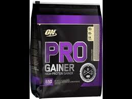 optimum nutrition pro gainer supplement
