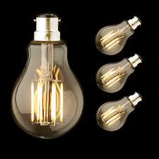 A60 8W B22 Lưỡi Lê Đế đèn Led mềm Retro Trắng Ấm 2700K ĐÈN LED Dây Tóc Bóng  Đèn 220 240VAC Edison A19 quả cầu Ánh Sáng Trang Trí|đèn làm việc