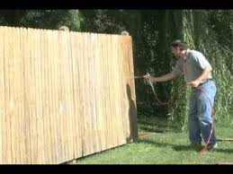 How To Stain Your Fence In 10 Easy Steps Using The Procoat Sprayer From Wagner Sprayers Fence Stain Fence