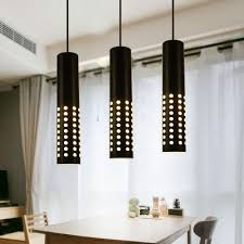 led pendant light contemporary metal