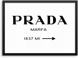 Amazon Com Fashion Road Miles Sign Trendy Wall Poster Chic Designer Couture Art Print 11x14 Unframed Modern Minimalist Artwork For Bedroom Living Room Or Home Office 11 X14 Marfa Sign Posters Prints