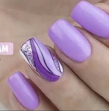 Pin by Priscilla Holmes on My love for Purple in 2020 | Purple nail art,  Purple nail designs, Nail designs spring