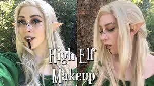 high elf makeup tutorial
