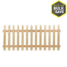 French Gothic Fencing Gates At Lowes Com