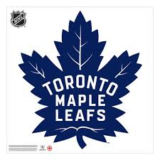 Toronto Maple Leafs 36x36 Team Logo Repositional Wall Decal Hhofecomm