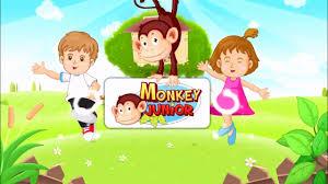 Bài 1 - Bé học Tiếng Anh cùng Monkey Junior - Các con vật yêu thích -  YouTube