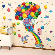Kaimao Cartoon Animals Fire Balloon Deco Buy Online In Aruba At Desertcart
