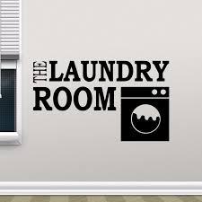 The Laundry Room Sign Wall Decals Washing Machine Design Logo Vinyl Wall Window Sticker Laundry Shop Decor Vinyl Art Az911 Wall Stickers Aliexpress