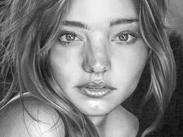 Miranda Kerr Pencil Drawing by Sophie Lawson on Dribbble