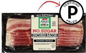 no sugar hickory smoked bacon slices