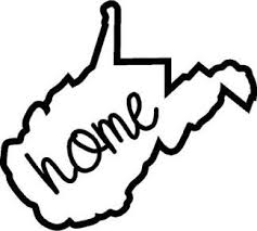 West Virginia Home Decal State Decals
