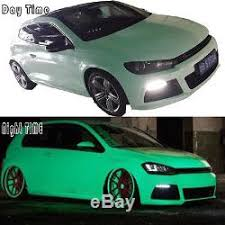 Gloss Blue Green Glow In The Dark Vinyl Car Wrap Film Decal Roll Satin Uk