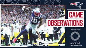 Game Observations: Pats raise a banner ...