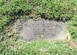 William Ivy McDonald (1900-1954) - Find A Grave Memorial