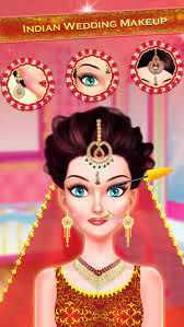 indian wedding makeover makeup on the