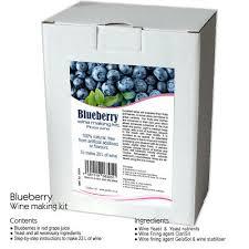 blueberry wine making kit 20 l rose