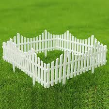 12 Pcs Vinyl Picket Garden Border Edges Fence Garden Border Fencing Fence Pannels Boards Outdoor Landscape Decor Edging For Patio Yard Decortion Lawn Edging Walmart Com Walmart Com