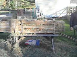 manual hay baler you