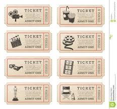Boletos De Cine Para Invitacion Buscar Con Google Boleto De