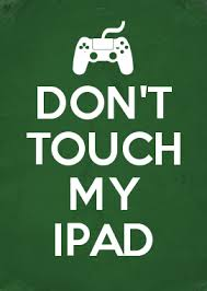 free png don t touch my ipad