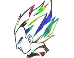 Kid Buu Peeker Sticker Dragon Ball Z Vinyl Decal Etsy