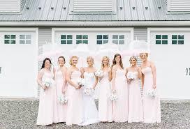elegant bridesmaid wedding party
