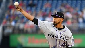 German Marquez pitches Rockies past Nationals 4-2