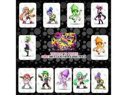 Splatoon 2 Full Set Customized Amiibo Nfc Tag Cards 11pcs Pack For Ns Switch Wii U New3ds Newegg Com