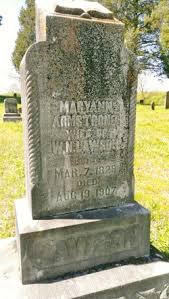 Mary Ann Armstrong Lawson (1829-1907) - Find A Grave Memorial