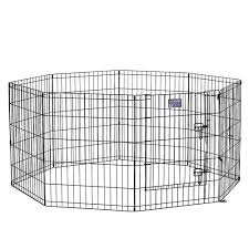 Midwest Exercise Pen With Door Dog Houses Pens Petsmart