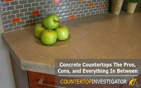 how to tell if concrete countertops are