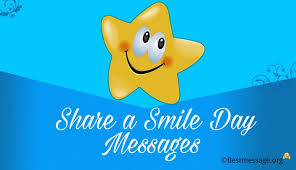 share a smile day messages cute smile quotes and wishes